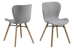 Batilda Dining Chair Rio Light Grey 180
