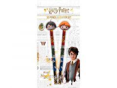 Harry Potter Potlood Met Gomtopper