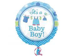 Ballon Standaard Shower With Love Boy  S40 Pac