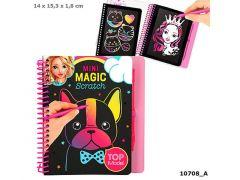 Topmodel Mini Magic-Scratch Book