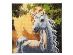Rainbow Loom Crystal Art Sunshine Unicorn 30X30Cm