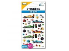 108 Sticker 145 033 Racecar 3V