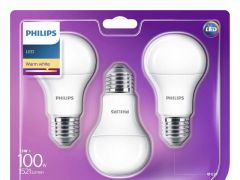 Philips Lamp Led 100W A60 E27 Ww 230V Fr Nd 3Bc/6