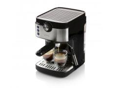 Domo Do711K Espresso 19 Bar Zwart + Rvs