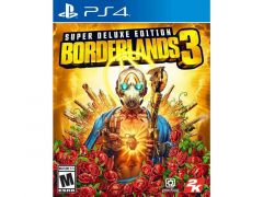 Ps4 Borderlands 3 Deluxe Edition