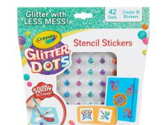 Crayola Glitter Dots Stickers Set