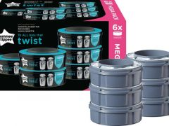 TOMMEE TIPPEE SANGENIC TWIST CASSETTE 6PACK