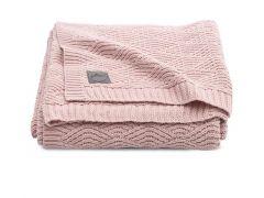 Jollein Deken 100X150Cm River Knit Pale Pink