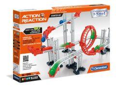 Clementoni Action& Reaction Knikkerbanen Starter Set