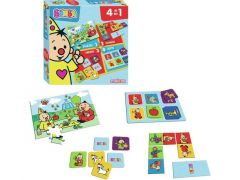 Bumba Spel 4 In 1 Memo, Domino, Puzzel En Lotto