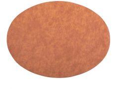 Placemat Troja - Oval, 33X45Cm, Caramel