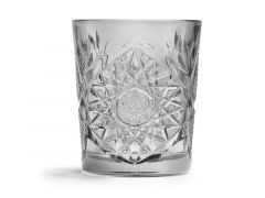 Beker Glas Wiskey 35.5Cl Grijs Per Stuk