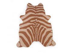 Childhome Zebra Tapijt Nude 145X160