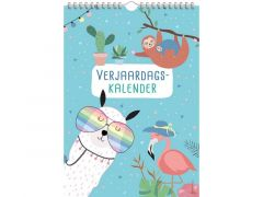 Verjaardagskalender - Trendy Animals