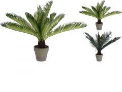 Plant Varen Artificieel 50Cm In Pot 2 Assortiment Prijs Per Stuk/Kleur