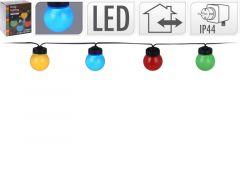Feestverlichting 10 Lampen D5Cm Gekleurd