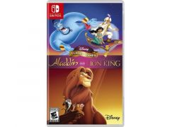 Nintendo Switch Aladdin And The Lion King - Disney