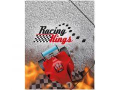 Elastomap A4 Racing Kings Met Elastiek En 3 Flappen
