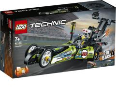Technic 42103 Dragster