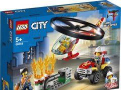 City 60248 Brandweerhelikopter Reddingsoperatie
