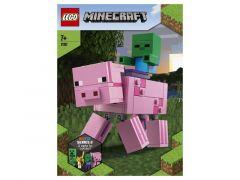 Minecraft 21157 Bigfig Varken Met Zombiebaby
