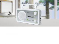 Muse M 06 Sw / Portable Radio Am-Fm / Silver