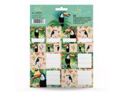 Good Vibes Toucan Schooletiketten & Stickers