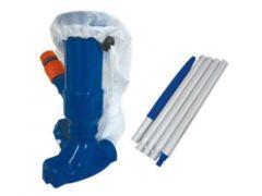 """Kokido Jet Vac Kit W/ 5 Section Pole Of 48""""/120Cm (Blue)"""