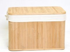 Koffers Bamboe Naturel 60X40X40Cm