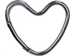 X Dooky Hook Heart Matt Silver