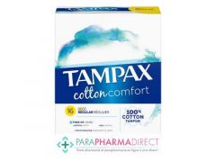 Tampax Pearl Cotton Comfort Regular 16St