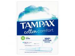 Tampax Pearl Cotton Comfort Super 16St