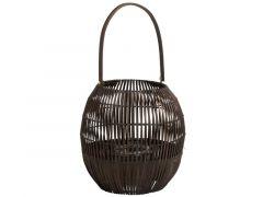 Lantaarn Oor Bamboo Bruin L 24X38X62Cm
