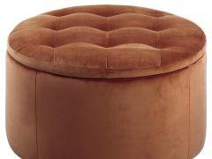 Retina Ottoman D60Xh35Cm Copper