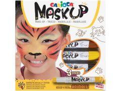 "Carioca Mask Up - 3 Kleurstiften Kindergrime ""Animals"""