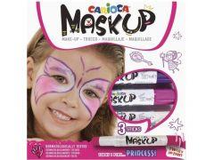 "Carioca Mask Up - 3 Kleurstiften Kindergrime ""Princess"""