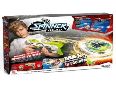 Silverlit Spinner M.A.D. Blaster + Led Spinner Groen
