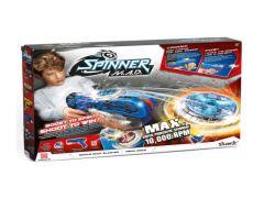 Silverlit Spinner M.A.D. Blaster + Led Spinner Blauw
