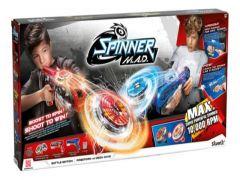 Silverlit Spinner M.A.D. Blaster + Led Spinners Pack