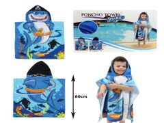 Haaien Handdoek Poncho