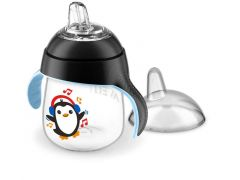 Avent Lekvrije Pinguin Beker 260Ml Zwart