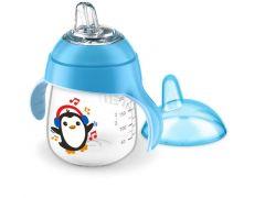 Avent Lekvrije Pinguin Beker 260Ml Blauw