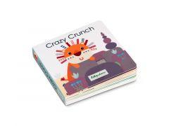 Lilliputiens Crazy Crunch Voelboek Met Geluiden