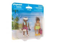 Playmobil 70274 Koppel Vakantiegangers
