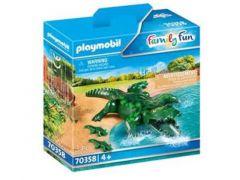 Playmobil 70358 Alligator Met Baby
