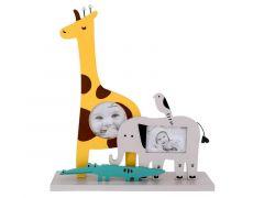 Pele Mele Olifant Giraffe Geel 23X6Xh26