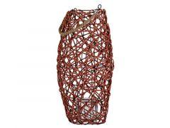 Lantaarn Rope Terracotta 26X26Xh50Cm Rond