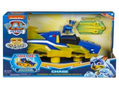 Paw Patrol Mighty Pups Charged Up - Chase'S Hovercraft