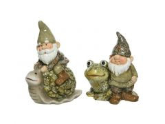 Dier Terracotta Kabouter Groen/Kleur 2 Assortiment Prijs Per Stuk