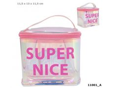 Topmodel Beauty Bag Holo Roze